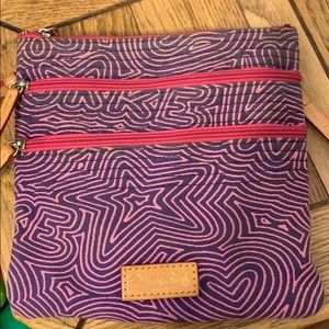 Used small fabric cross body bag